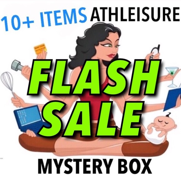 Other - 🎉FLASH SALE🎉 ATHLETIC 10 ITEMS MYSTERY BOX XS/S